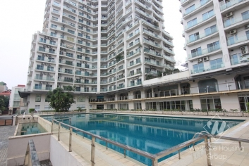 Luxury 03 bedrooms apartment with lake view for rent in Gold Westlake Building, Tay Ho district