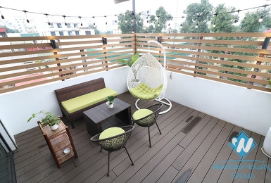 A 2 bedroom apartment with beautiful terrace for rent in Hoan Kiem
