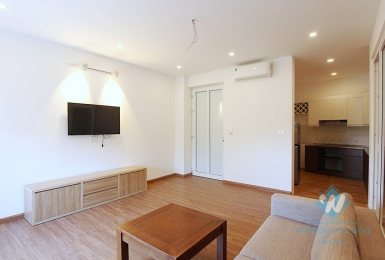 Bright and clean 1 bedroom apartment for rent in Dang Thai Mai Street, Tay Ho District