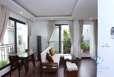 Stunning apartment with beautiful lighting for rent in Xuan Dieu, Tay Ho District