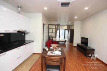 Luxury one bedroom apartment with 50sqm size for rent in Tay Ho